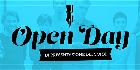 OPEN DAY Corso STORYTELLING TOOLS 2020 - I Principi Base della Narrazione - 11a Edizione biglietti