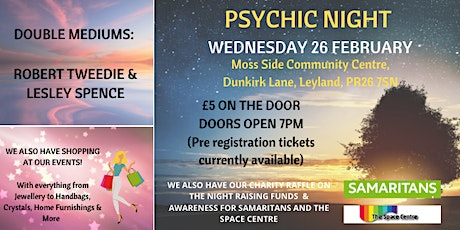 Psychic Night - Moss Side Community Centre tickets