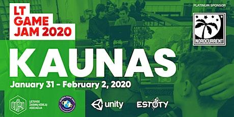 LT Game Jam 2020 Kaunas tickets