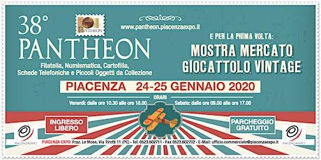 38° Pantheon - 24 e 25 gennaio 2020 - Piacenza biglietti