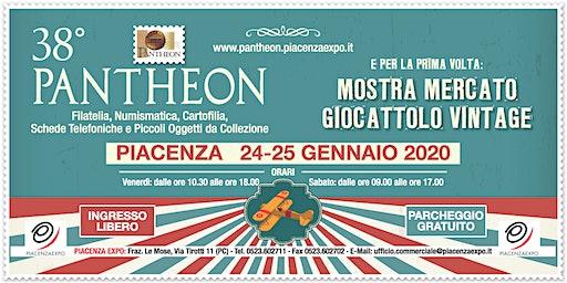 38° Pantheon - 24 e 25 gennaio 2020 - Piacenza