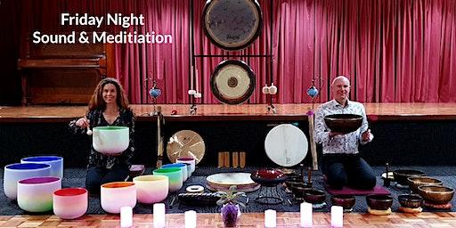 Sound Healing & Guided Meditation - Tibetan & Crystal Singing Bowls & Gongs