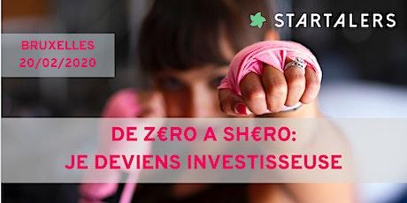 De z€ro à sh€ro: je deviens investisseuse billets