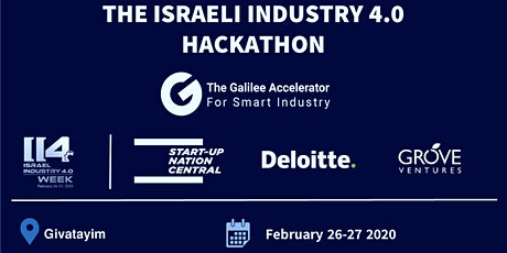Israeli Industry 4.0 Hackathon: Addressing Real Industry Challenges tickets