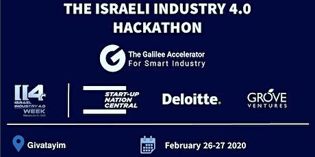 Israeli Industry 4.0 Hackathon: Addressing Real Industry Challenges tickets