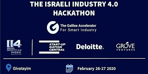 Israeli Industry 4.0 Hackathon: Addressing Real Industry Challenges
