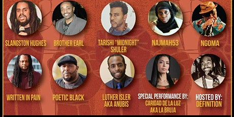 Green Earth Poets Cafe presents Black History Month Poetry tickets