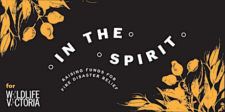 In The Spirit- Whiskey fundraiser for Australian Bushfires tickets