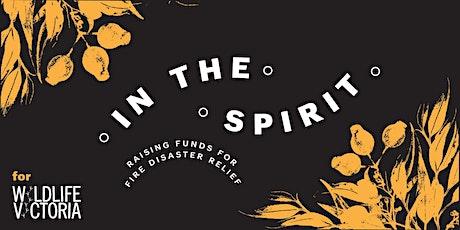 In The Spirit- Whiskey fundraiser for Australian Bushfires tickets
