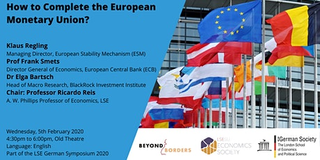 How to Complete the European Monetary Union? tickets