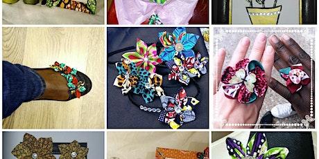 Mixed Media African Textile Art Worksgop by Baitaari Design tickets