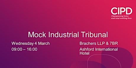 Mock Industrial Tribunal tickets