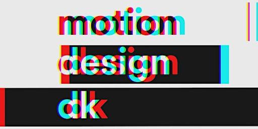 Motion Design DK MeetUp Januar 2020