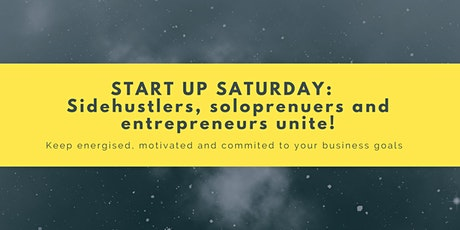 StartUp Saturdays: stay accountable launching & growing your business tickets