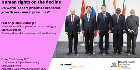 Human Rights on the Decline tickets