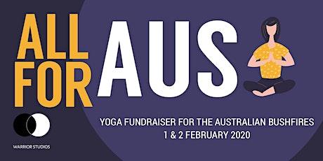 All For Aus: Yoga Fundraiser for Australian Bushfires tickets