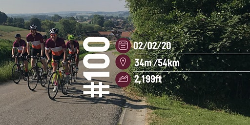 Cycle and Social Club Ride #100