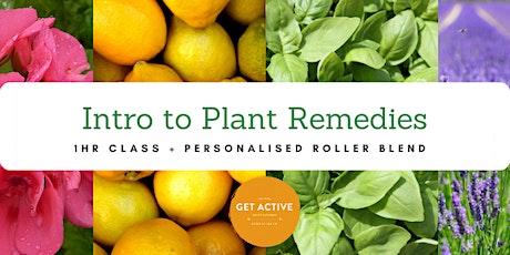 Introduction to Plant Remedies tickets