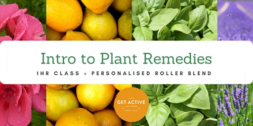 Introduction to Plant Remedies