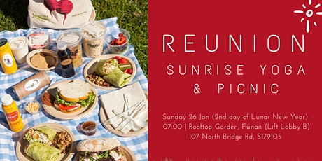 Reunion Sunrise Yoga & Picnic tickets
