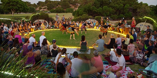 Full Moon Drumming Circle at Booyeembara