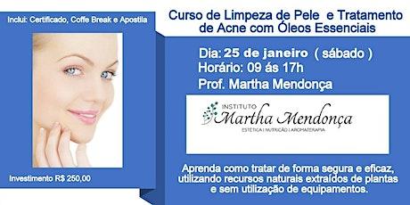 Limpeza de pele e tratamento de acne ingressos