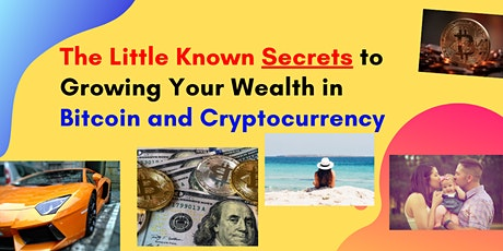 Bitcoin and Cryptocurrency Secrets: Turn Small Bets Into Potential Fortunes biglietti