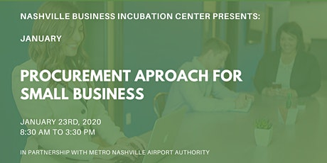 Procurement Approach for Small Business (An MNAA Partner Session) tickets