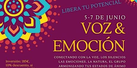 """Libera tu potencial """"Voz & Emoción"""" tickets"""