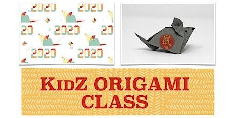KidZ CHINESE NEW YEAR ORIGAMI CLASS with SUZUKO WOOD tickets