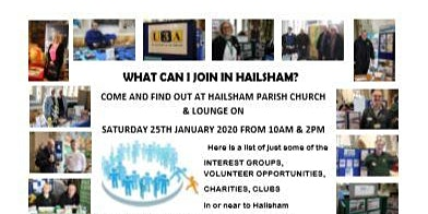 WHAT CAN I JOIN IN HAILSHAM?