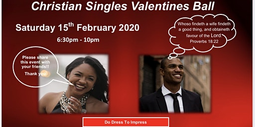 Christian Singles Valentines Ball with Fun & Games