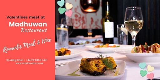 Valentine's Day | Romantic 3 Course Meal at Madhuwan Restaurant