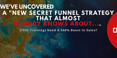 (FREE Training) Need A 540% Boost In Sales? tickets