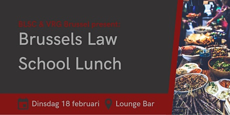 Brussels Law School Lunch tickets