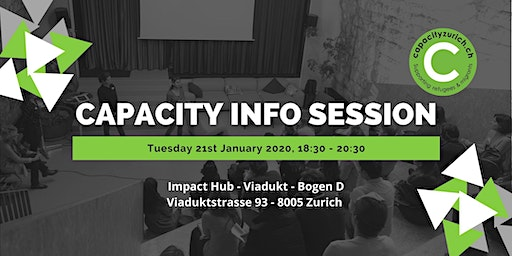 Capacity Launch Info Session - Informationsveranstaltung
