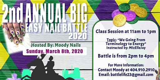 2nd Annual Big Easy Nail Battle