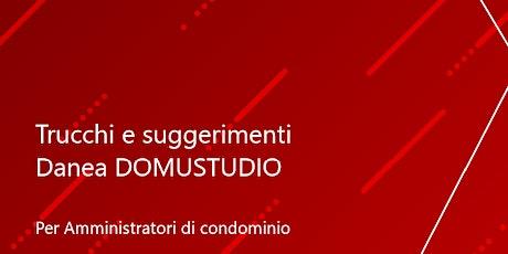 Incontro tra Amministratori di Condominio Domustudio Sardegna biglietti