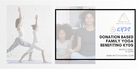 Poses for a Purpose: Family Yoga to benefit KYDS tickets