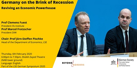 Germany on the Brink of Recession - Reviving an Economic Powerhouse tickets