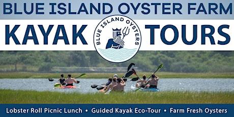 Blue Island Oyster Farm & Kayak Tours | Summer 2020 tickets