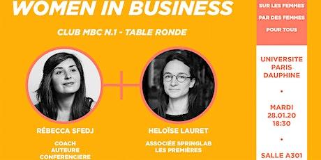 Women in Business - Club MBC n°1 tickets