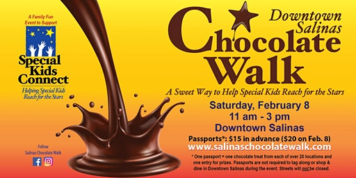 Downtown Salinas Chocolate Walk