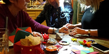 Kusudama - an amazing origami workshop ingressos
