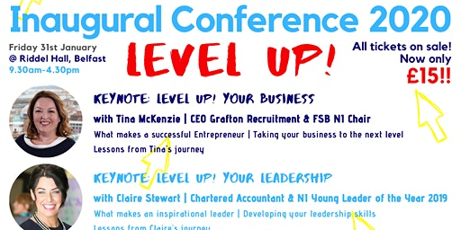 "YENNI's Inaugural ""Level UP!"" Conference 2020"