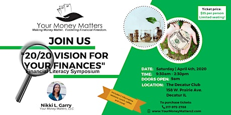 20/20 Vision For Your Finances Symposium tickets
