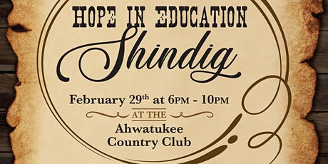 2020 HOPE in Education Shindig tickets