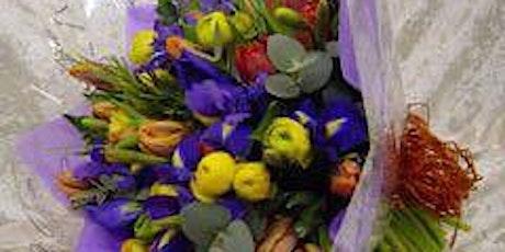 Spring Hand Tied bouquet workshop tickets