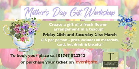 Mother's Day Gift Workshop tickets