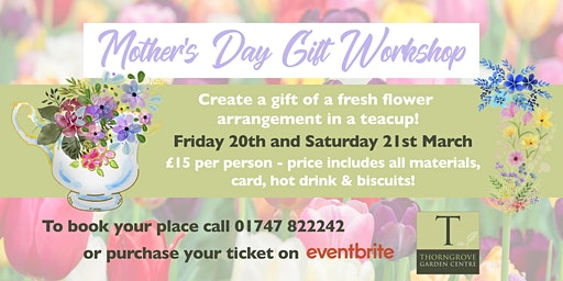 Mother's Day Gift Workshop